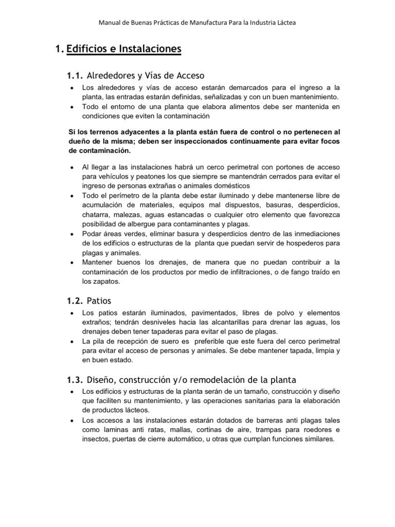 Manual de buenas practicas de manufactura Manual de buenas practicas de manufactura pdf