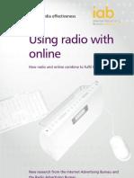 IAB Study on Radio and Internet Media