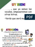 Aprender a Leer 1 Letra l
