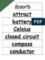 4th Grade Energy Transfer
