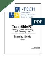 Train Smart Training Manual