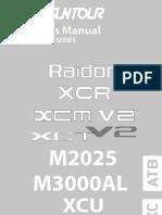 2010 Owners Manual Raidon Xcr Xcm Xct m Xcu