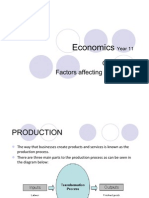 Chpt 23 Factors Affecting Production