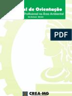 Manual de Orientação - Atuação do Profissional na Área Ambiental