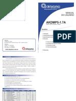 Manual Akdmp5-1.7a