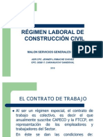 Regimen Construccion Civil