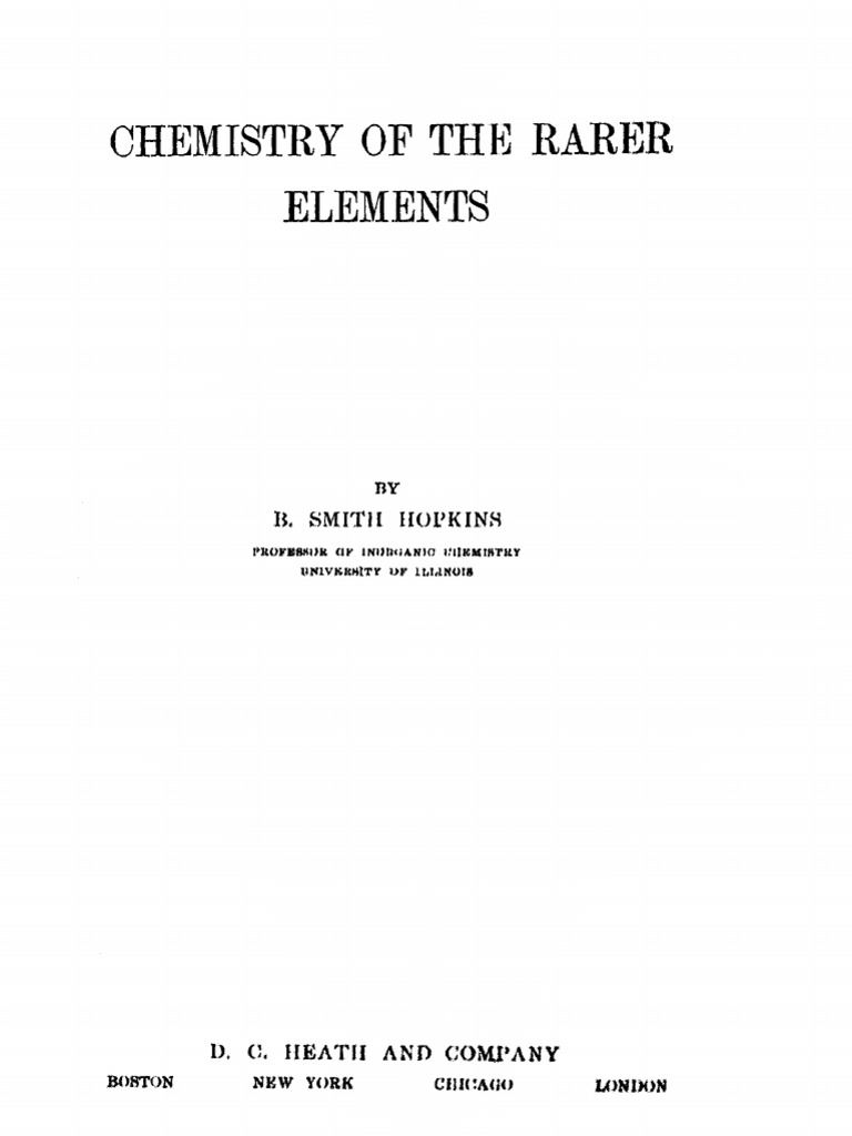 Chemistry of the rarer elements hopkins chemical elements helium gumiabroncs Images
