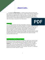 Smart Cards Seminar Report