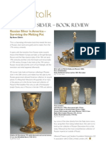 Russian Silver in Goldsmith magazine (review)