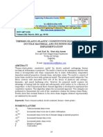 Thermo- Elasto-plastic Constitutive Equations for Ductile Material and Its Finite Element Implementation- Hani Aziz Ameen