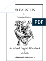 Dr Faustus Workbook
