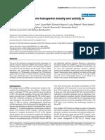 Alteration of Serotonin Transporter Density and Activity in Fibromyalgia