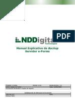 Manual Explicativo de Backup Servidor e-Forms 2.5.0 (versão doc 1.1)