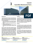 Solarwall Case Study - Toyota Motor Manufacturing France - solar air heating system