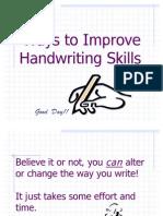 J Handwriting