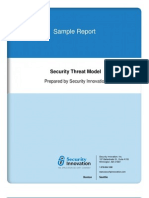 Sample Report - Threat Model
