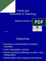PAMS 626 orientation