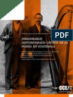 CONVOCATORIA TALLER HISTORIOGRAFÍA