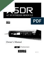 X5DR Manual
