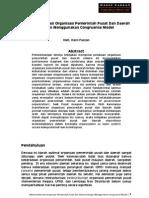Mentransformasi Organisasi Dengan Congruence Mode_DS (Haris Faozan, 2009)