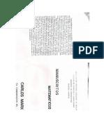 manuscritos matemáticos escaneados