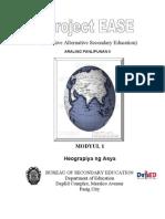 Modyul 1 - Heograpiya Ng Asya
