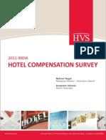 HVS - 2011 India Hotel Compensation Survey