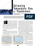 Estimating Temperature Rise of Transformers Orenchak G. 2004)
