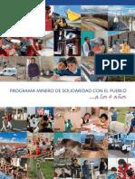 Programa Minero de Solidaridad con el Pueblo - A los 4 años (libro)