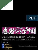 Guia a Pa Analisis Gob Local
