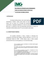 A EXTENSÃO DAS ÁREAS DE PRESERVAÇÃO PERMANENTE