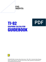 TI-82 Guidebook