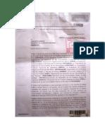 Carta de Orpian P al Gobierno Regional de Amazonas