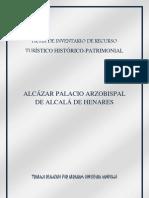 FICHA INVENTARIO RECURSO TURÍSTICO HISTÓRICO PATRIMONIAL
