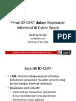 ID-CERT Seminar Kominfo