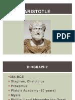 Aristotle and Cicero