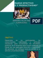 Material Curso Supervisores Calidad & Productividad