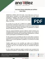 19-07-11 Listos los recursos para Sonora obtenidos por Priistas