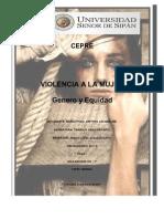 Breves Datos de Violencia Contra La Mujer[1]