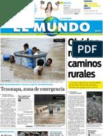 Portada El Mundo de Córdoba 19 de julio