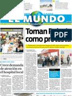 Portada El Mundo de Tecamachalco 19 Julio