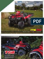 TGB All Terrain Vehicle Brochure 2012
