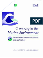 Chemistry n the Marine Environment