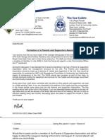 P and SA letter