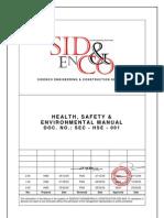 Construction HSE Manual
