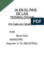 Byron Ruiz- Ensayo Conejo