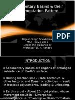 Sedimentary Basins & Their Sedimentation Pattern