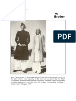 My Brother  by Fatima Jinnah