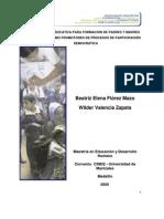 Propuesta Educativa para la formación de padres y madres de