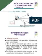 Comunicacion a Traves de Una Red Conectada Por Cables